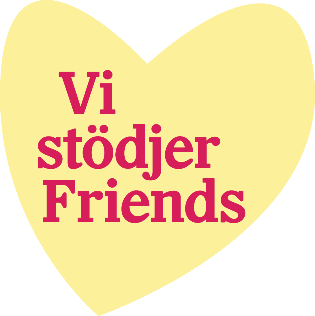 friends vi stodjer hjarta